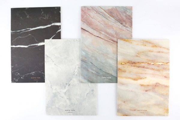 Marble Pattern Cover Notebook