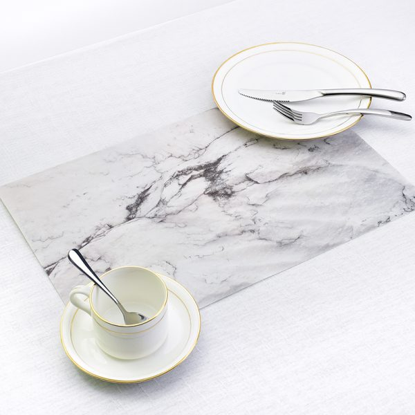 Marble Pattern Table Mat