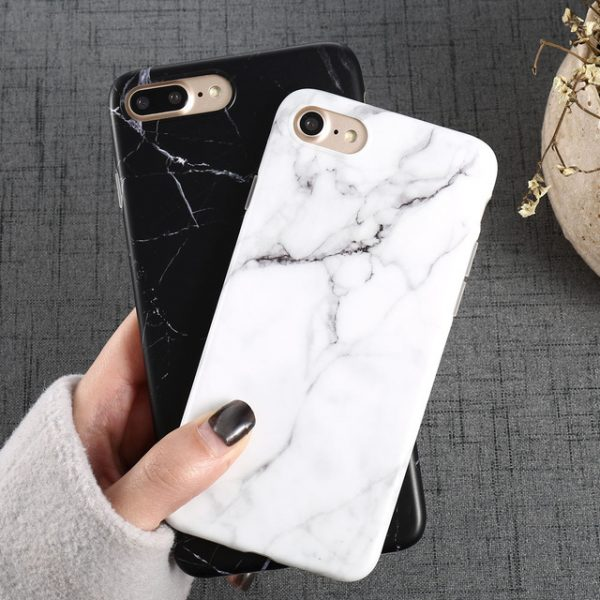 Marble pattern iPhone cases