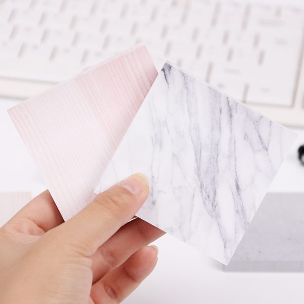 Marble Pattern Sticky Notes