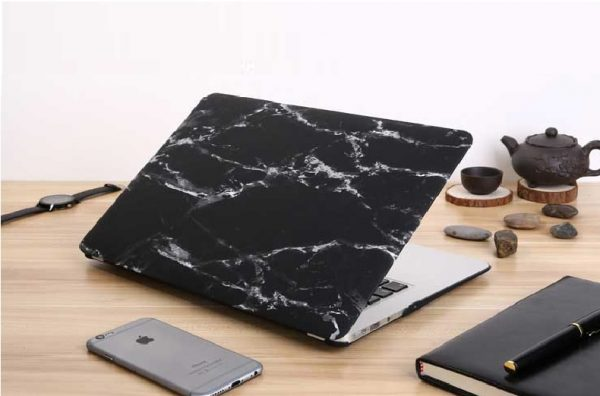 Laptop Case with Marble Print