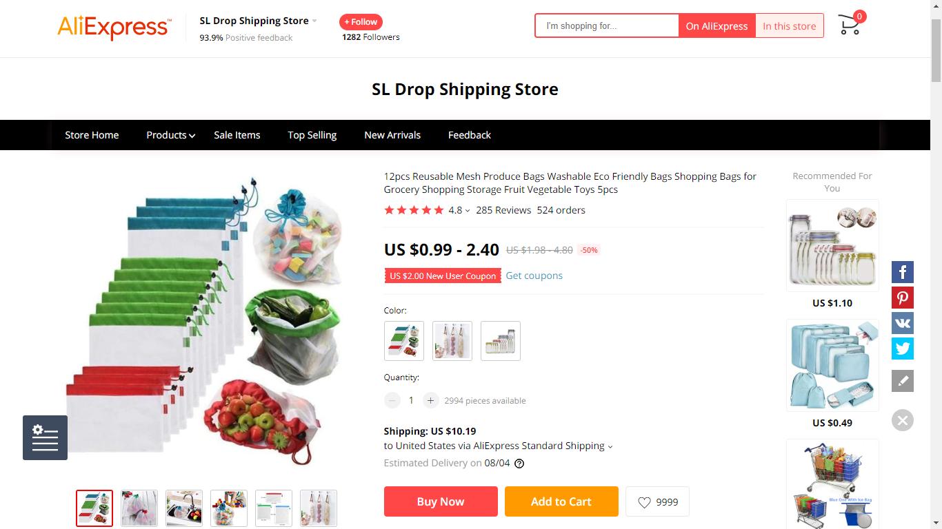 31 Eco Friendly Reusable Mesh Food Bags